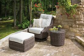 High Back Swivel Rocker Patio Chairs Item Lloyd Flanders Premium Outdoor Furniture In All Weather