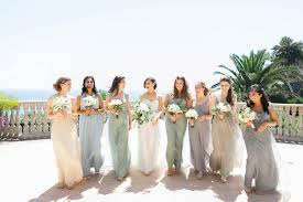 Green Dresses For Weddings 8 Ways To Display Multi Colored Dresses For Your Bridesmaids In