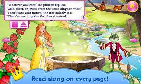 princess u0026 frog book kids android apps google play
