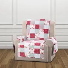 Quilted Recliner Covers English Floral Microfiber Recliner Cover Recliner Cover