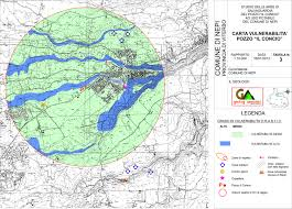 Norcia Italy Map Safeguard Well Area For Drinking Water In Nepi Vt Geologi