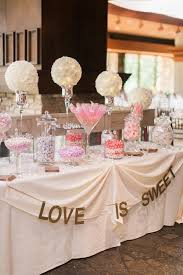 candy table for wedding california wedding with pastel blooms dessert table