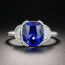 diamond rings sapphire images 3 21 carat ceylon sapphire platinum diamond ring jpg