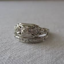 wedding rings art deco cubic zirconia rings art deco ring