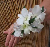 white orchid corsage corsages orlando florist llc orlando fl