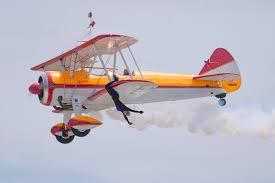 Mount Comfort Airport Wing Walker Jane Wicker On