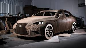 Cardboard Origami - discover the drivable origami inspired car made out of cardboard