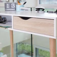Schreibtisch Bis 50 Euro Schreibtisch In Weiß Oberfläche Massive Eiche Unbehandelt