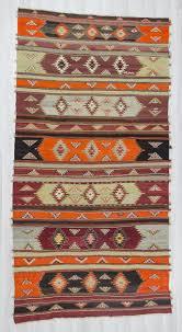 Large Kilim Rugs Handwoven Vintage Decorative Colorful Large Turkish Kilim Rug 0233