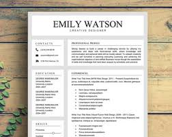 Download Professional Resume Template Creative Resume Template Resume For Word U0026 Pages Resume