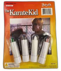 Karate Kid Skeleton Halloween Costume Classic Movie Karate Kid Cobra Kai Skeleton Gang Face Paint Kit Ebay