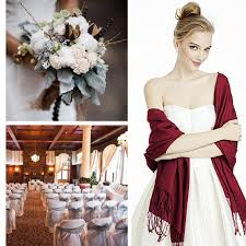 colour inspiration for a winter wedding in silver u0026 claret
