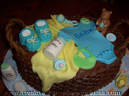 cakes for baby showers basket baby shower cake pictures and