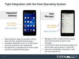 tizen vs android openmobile acl bringing android apps to tizen