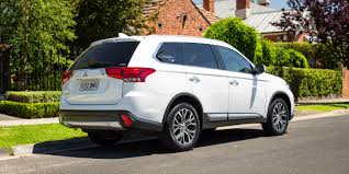 white mitsubishi outlander 2017 mitsubishi outlander exceed petrol review caradvice