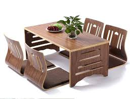Folding Table With Chairs Inside Foldable Wood Dining Table Collapsible Dining Table And Chairs