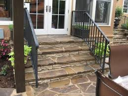 Wooden Front Stairs Design Ideas Best 25 Stone Front Porches Ideas On Pinterest House Front