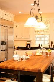 butcher block kitchen island kitchen traditional with apron sink