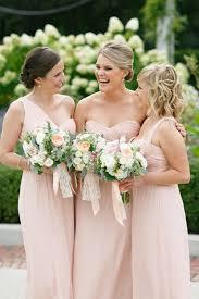 blush colored bridesmaid dress blush colored bridesmaid dresses 2017 wedding ideas magazine