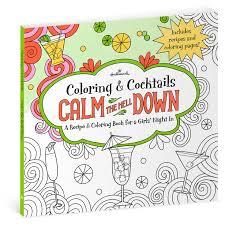 calm hell recipe u0026 coloring book girls u0027 night