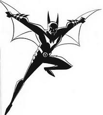 batman beyond coloring pages asoboo info
