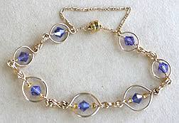 How To Make Jewelry Out Of Wire - oval links bracelet