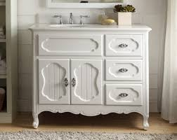 Cottage Style Vanity 42 Benton Collection Cottage Style White Knoxville