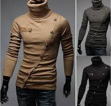 mens turtleneck sweater 2018 2016 s sleeve turtleneck sweaters fashion