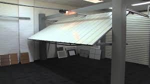 Peninsula Overhead Doors by Automatic Tilt Garage Door Demonstration Youtube