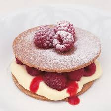 raspberry recipes pecan shortbreads with raspberries and raspberry puree recipes