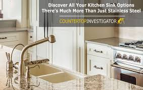 Countertop Kitchen Sink The Best Sinks For Granite Countertops