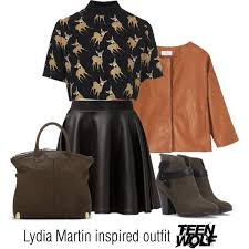 lydia martin inspired teen wolf polyvore