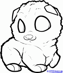 dog pomeranian puppy cute pomeranian coloring pages coloring