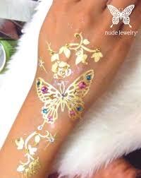 ladies u0027 gadgetsnude jewelry tattoo designs in gold and platinum