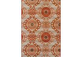 st dagmar orange 3 3 x 5 1 indoor outdoor rug rugs orange 3 X 5 Indoor Outdoor Rugs