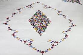 Embroidery Designs For Bed Sheets For Hand Embroidery Ribbon Work Bed Sheets Designs