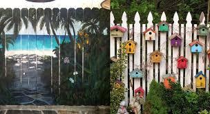 domiselne diy vrtne ograje ograja kot slikarsko platno citymagazine