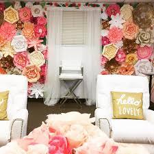 wedding backdrop flower wall 9x8 paper flower backdrop paper flowers wall paper