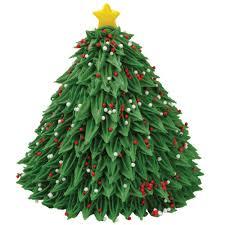 D Christmas Tree Cake - christmas tree on cake christmas cookie