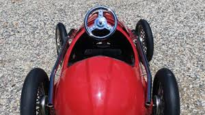 retro ferrari 14 1950 u0027s american retro ferrari pedal car k31 monterey 2016