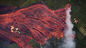 Hawaii Rivers images Lava rivers gush into sea as molten rock smashes man 39 s leg in jpg