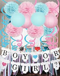 baby shower party supplies gender reveal decorations baby shower decorations with