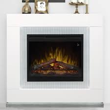 dimplex lukas 48 inch electric fireplace mantel inner glow logs