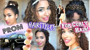 How To Formal Hairstyles by Prom Formal Hairstyles For Curly Hair Youtube