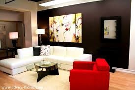apartments cute red black and white living rooms room design