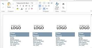 business cards templates word free download free business cards