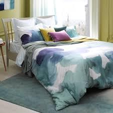 plum louisa bedspread plum purple spotdeco
