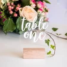 acrylic table numbers wedding acrylic table numbers