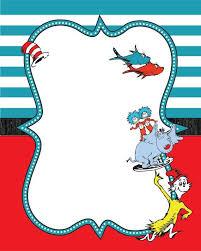 dr seuss baby shower invitations seuss border guest book baby shower invitation