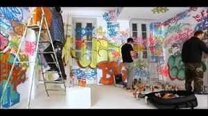 panic room graffity covered room hd youtube